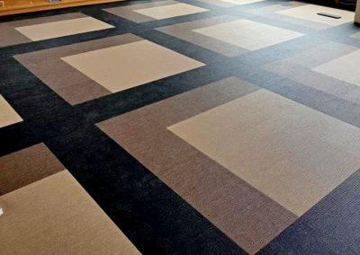 Läggning av mönstrat golv