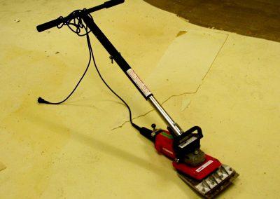 Förarbete/borttagning av gammalt golv