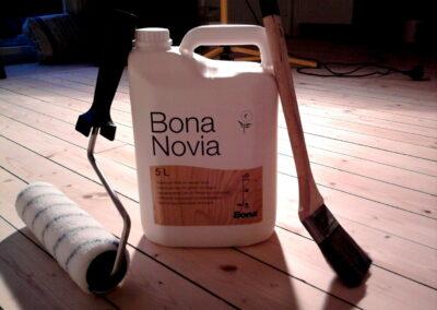 Bona Novia. Lack till trägolv